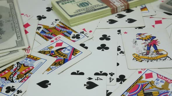Thumbnail for Playing Poker Cards and Money