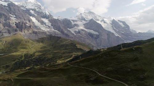 Pedestal of Mannlichen and Eiger in the Bernese Alps