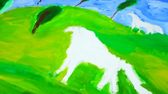 Thumbnail for Drawing White Horses