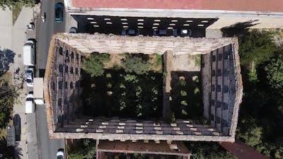 Historical Relic Ruin at Uskudar Istanbul