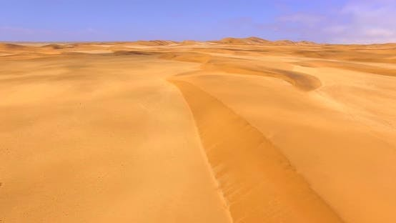 Thumbnail for Beautiful African Country with Endless Sand Dunes