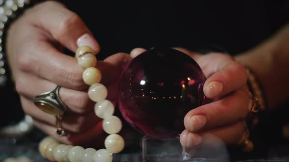 Thumbnail for Fortune telling with crystal ball