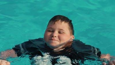 Fat Boy Swims