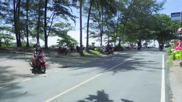 Thumbnail for Tourists on Nai Harn Beach