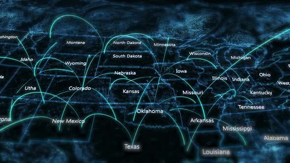 Thumbnail for USA MAP Network