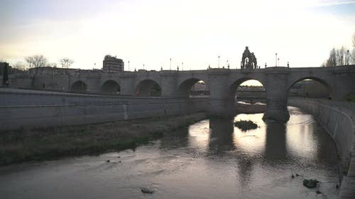 Die Toledo Brücke
