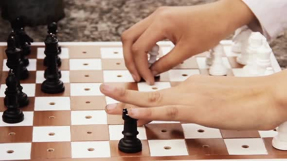 Cover Image for Chess for Blind People.