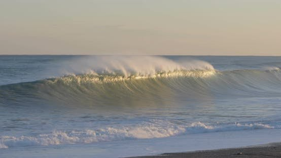 Stormy Waves of the Ocean