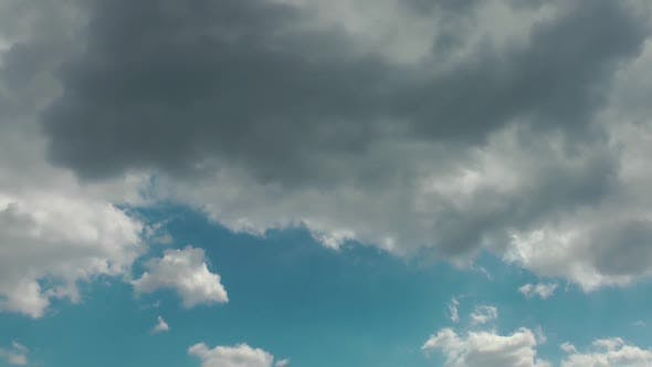 Thumbnail for Softly Grey Clouds And Blue Sunny Sky
