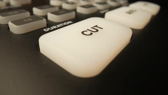Pushing the Cut Button