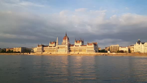 The Hungarian Parliament Building (Parliament of Budapest)