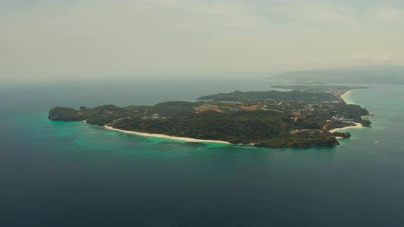 Thumbnail for Tropical Island with Sandy Beach, Boracay, Philippines