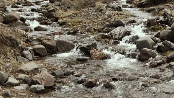 A Mountain Creek in the Patagonia, Argentina.
