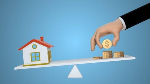 Solde des investissements immobiliers