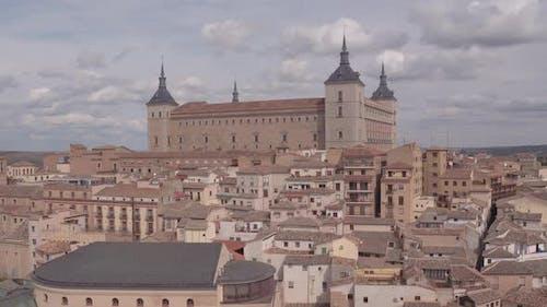 Luftaufnahme der Festung Alcazar