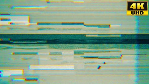 Thumbnail for Tv Noise Retro Video Loops Pack V2