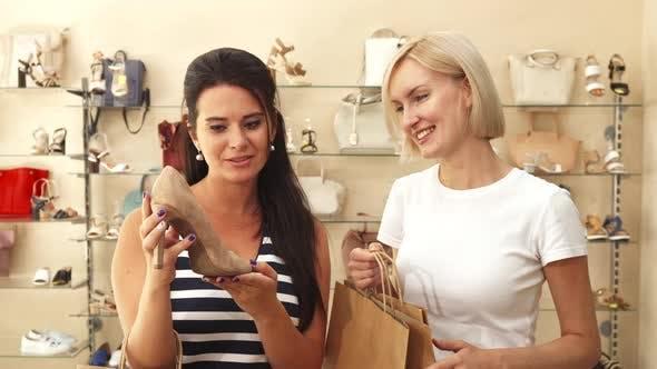Thumbnail for Women Choosing Shoes in Shoe Shop