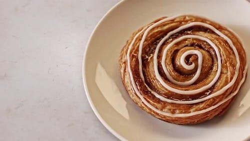 Sweet and fresh bun