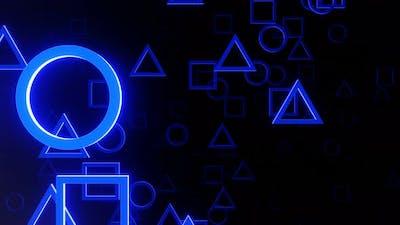 VJ Loop Abstract Figure Background