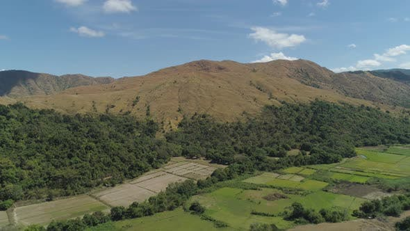 Cover Image for Mountain Landscape with Valley Island of Luzon, Philippines