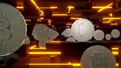 Bitcoin Neon 02 Hd
