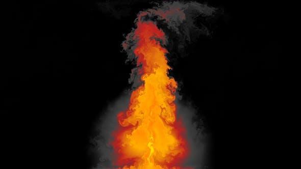 Thumbnail for Fire Turbulence 07