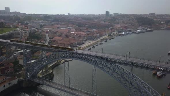 Thumbnail for Bridge With Subway Porto Portugal