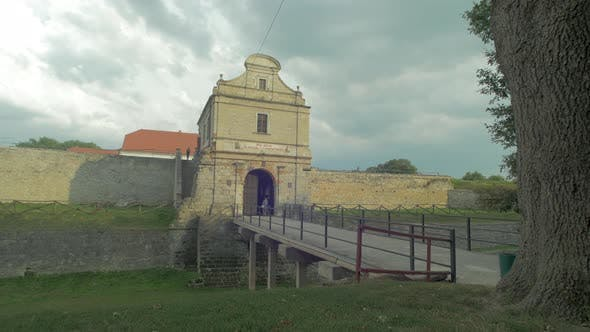 Entrance to a fortress