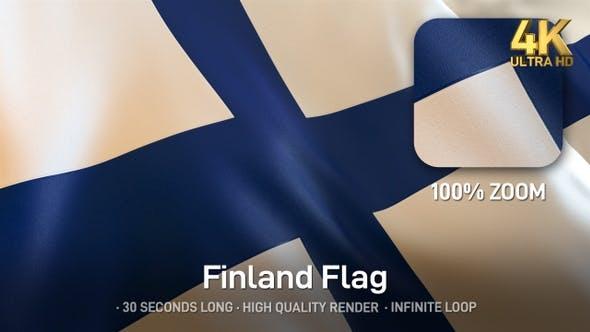 Thumbnail for Finland Flag - 4K