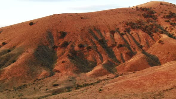 Thumbnail for Beautiful view of red hills