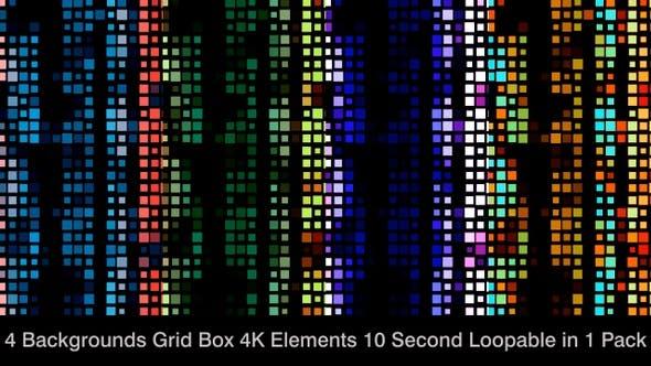 Thumbnail for Elegant Grid Boxes Element Pack 04