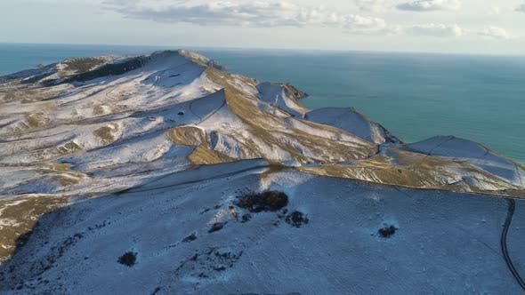 Thumbnail for Snow Mountain In Iceland