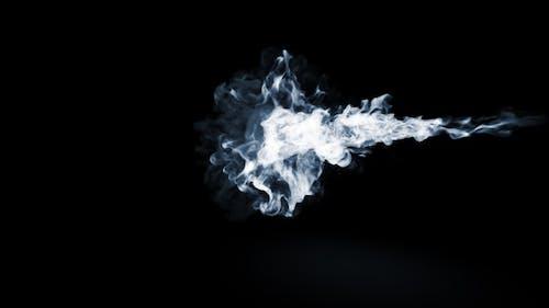 White Firy Smoke Collision