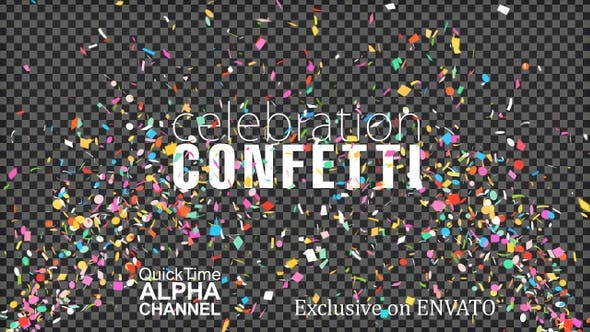 Thumbnail for 4K Celebration Explosion Confetti