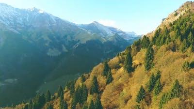 Mountains aerial