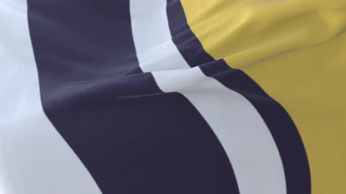 South Bend Flag, Indiana, United States