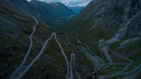Thumbnail for Evening Trollstigen Road