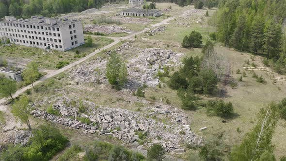 Thumbnail for Remnants of a Buildings After Aerial Bombardment