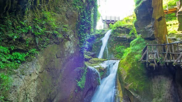 Thumbnail for Grotto del Cagleron and Waterfall in Italy