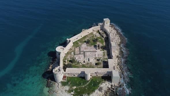 Historical Medieval Roman Empire Castle