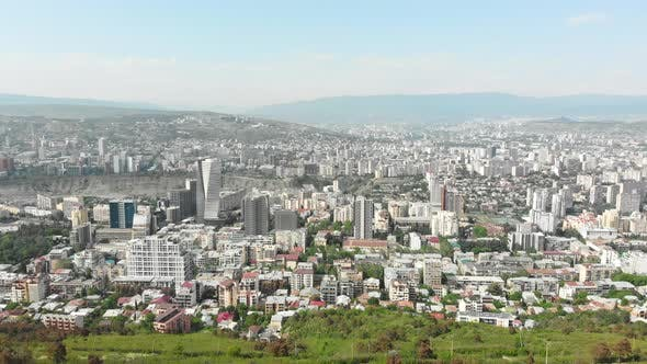 Thumbnail for Vake District Area In Tbilisi. Concept Of City Life In Caucasus. 2020