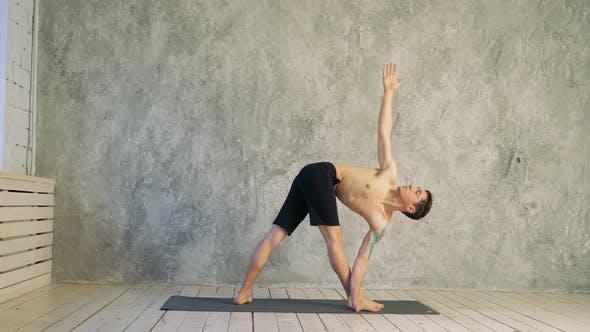 Yoga Position Asana Healthy Life Exercise Concept