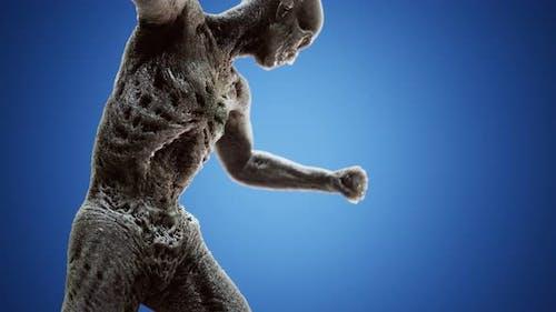 Horrible Scary Zombie Man