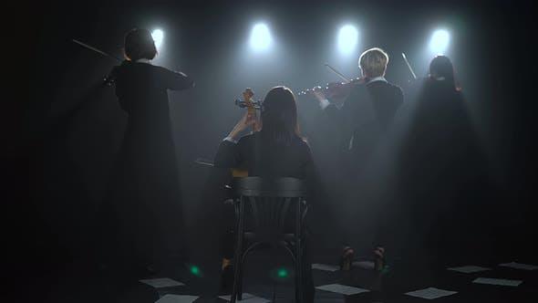 Thumbnail for Quartet Plays Musical Instruments