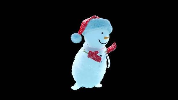 Thumbnail for Snowman Dancing HD