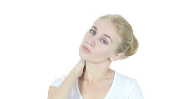 Thumbnail for Woman Suffering from Pain In Neck