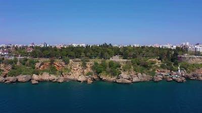 Antalya City on Sunny Day