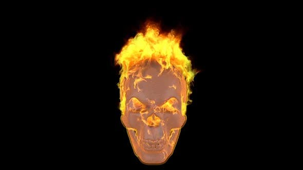Thumbnail for Fire Skull