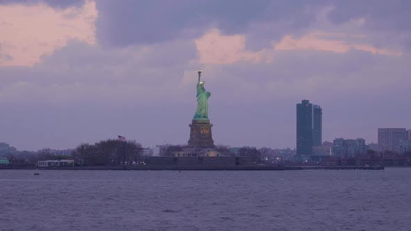 Thumbnail for Statue of Liberty in the Evening