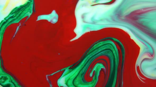 Abstract Color Painting Reaction 6